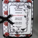 Classic Red & Black Poppy I..